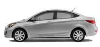 Hyundai Accent Blue Diesel - Manuel 2016 Model